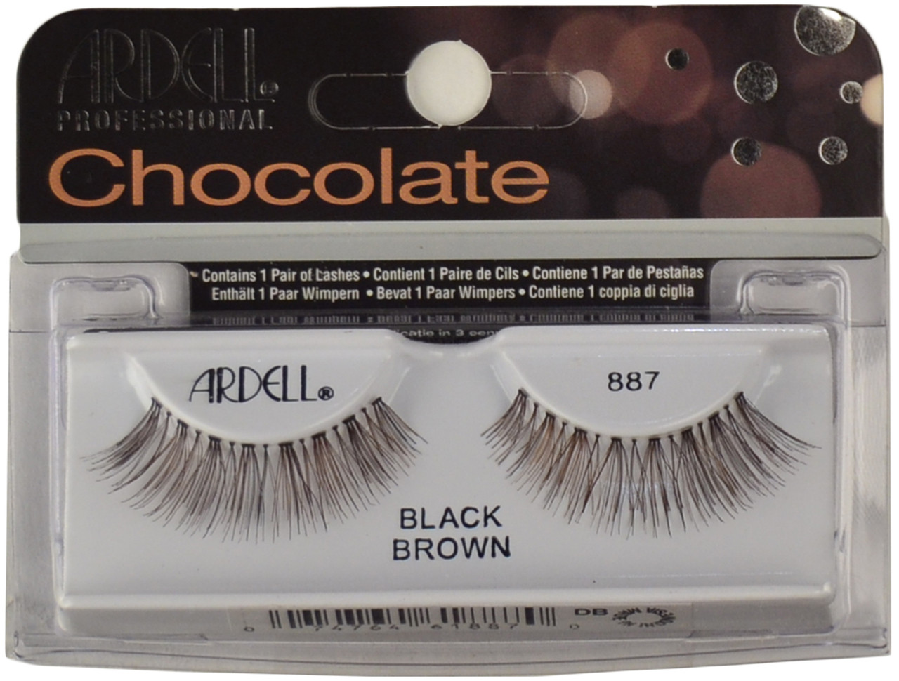ccafb315a4b Ardell Lashes Chocolate 887 Black Brown Ardell Lashes, Free Shipping ...