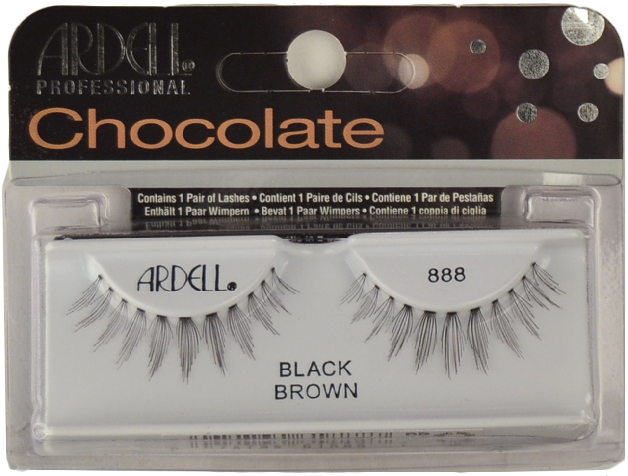 824cd9e2eb3 Ardell Lashes Chocolate 888 Black Brown Ardell Lashes, Free Shipping ...