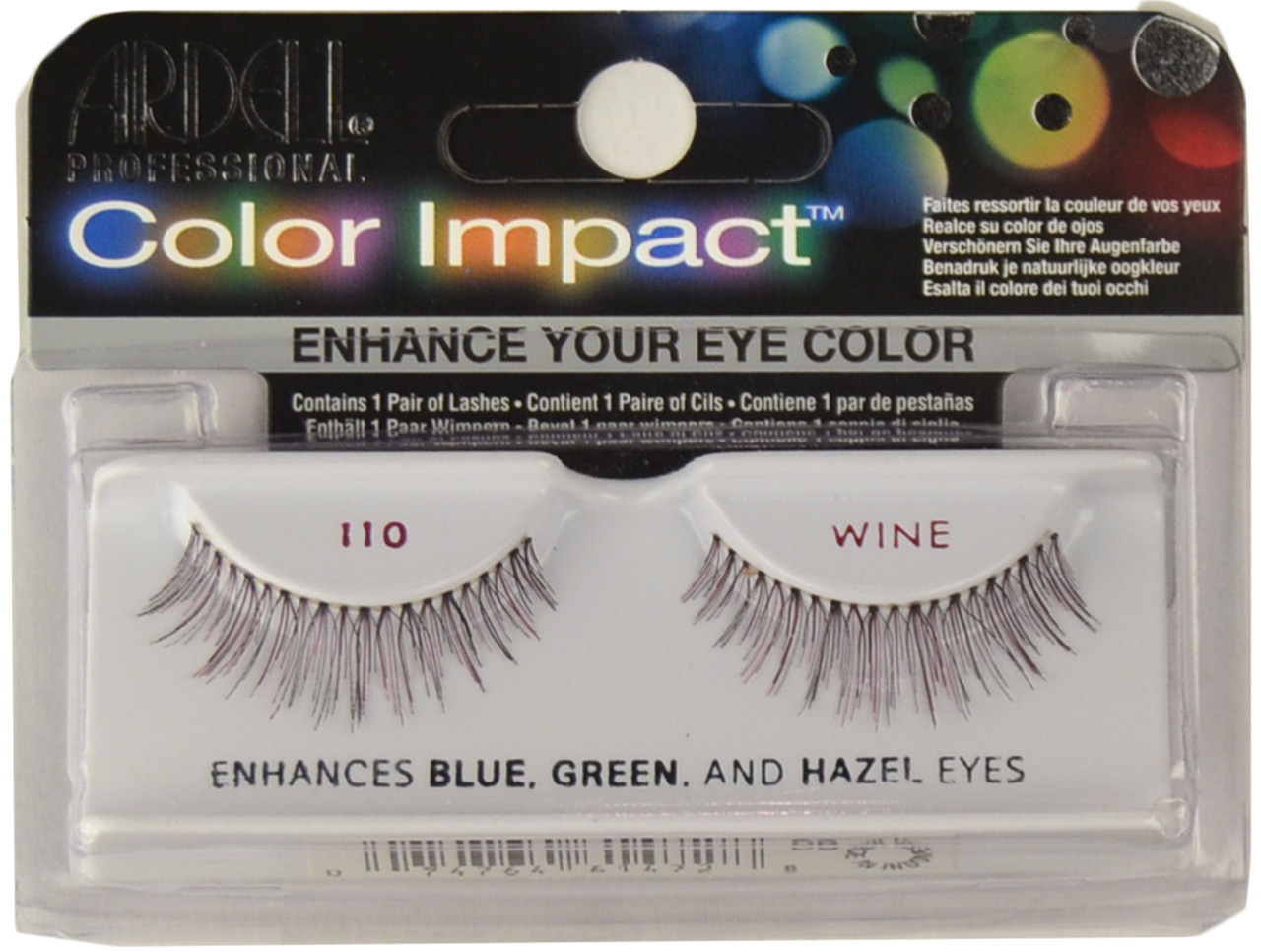 209567c480f Ardell Lashes Color Impact 110 Wine Ardell Lashes, Free Shipping at ...