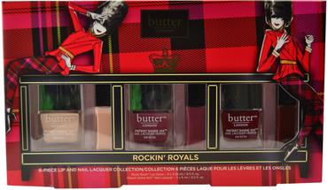 Butter London 6 pc Rockin' Royals Lip & Nail Lacquer Set