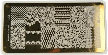 Color Club Image Plate Lace