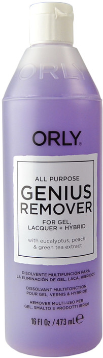 Orly Genius Gel/Lacquer Hybrid Remover (16 fl. oz. / 473 mL)