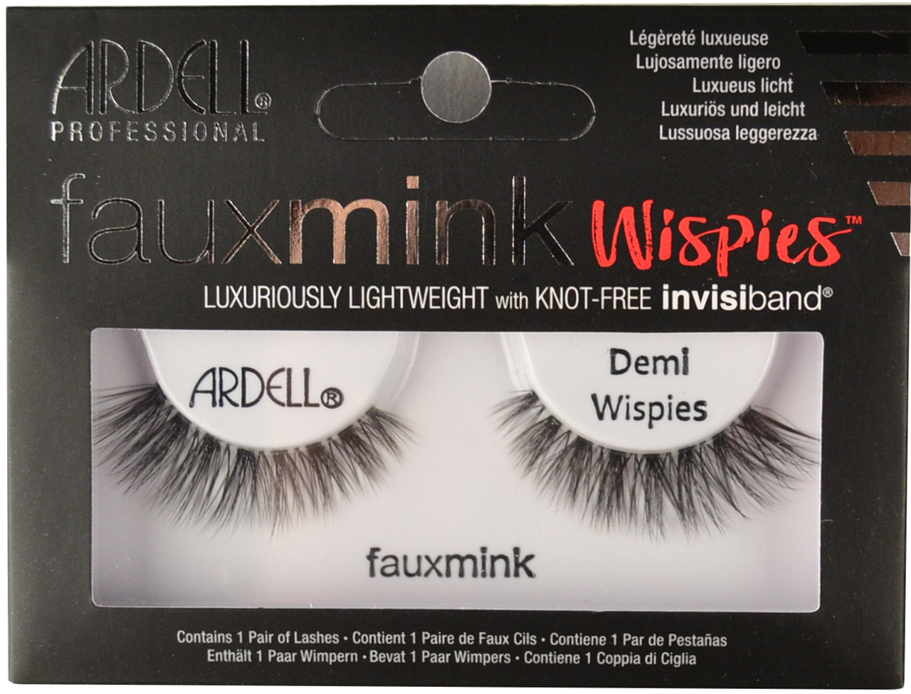 d32df0036f1 Ardell Lashes FauxMink Demi Wispies Black Ardell Lashes. Loading zoom