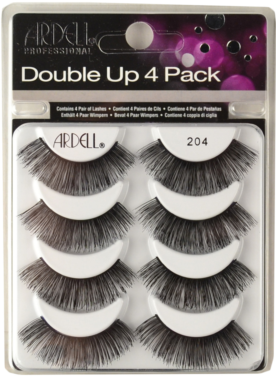 a257e3d6bb6 Ardell Lashes Double Up 4 Pack 204 Black Ardell Lashes. Loading zoom