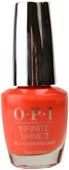 OPI Infinite Shine A Red-Vival City (Week Long Wear)