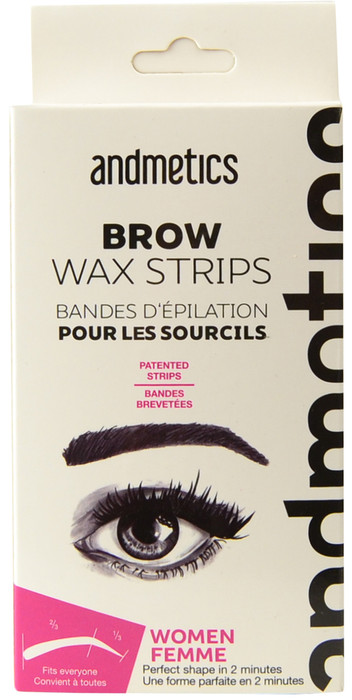 Andmetics Brow Wax Strips For Women
