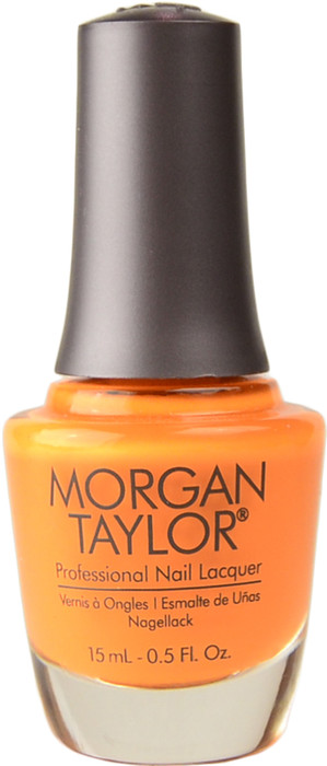 Morgan Taylor You've Got Tan-Gerine Lines