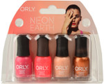 Orly 4 pc Neon Earth Mini Set