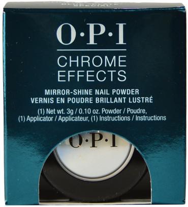 """OPI Blue """"Plate"""" Special Chrome Powder"""