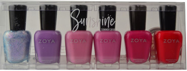 Zoya 6 pc Sunshine Collection A