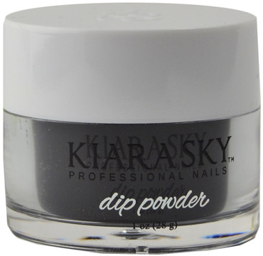 Kiara Sky Black To Black Acrylic Dip Powder (1 oz. / 28 g)