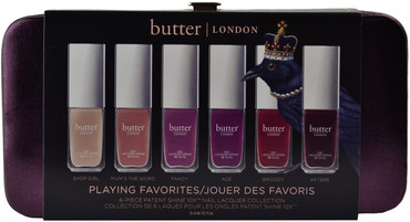 Butter London 6 pc Playing Favorites Mini Set