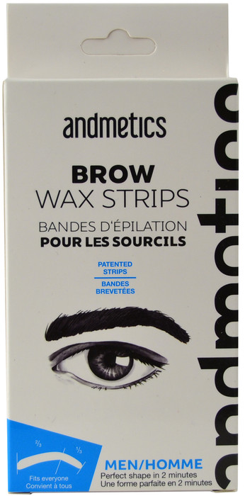 Andmetics Brow Wax Strips For Men