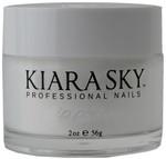 Kiara Sky Pure White Dip Powder 2Oz