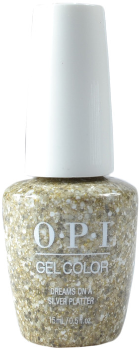 OPI Gelcolor Dreams On A Silver Platter