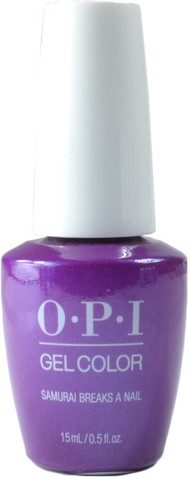 OPI Gelcolor Samurai Breaks a Nail (UV / LED Polish)
