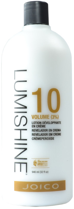 JOICO Lumishine 10 Volume (3%) Crème Developer (32 fl. oz. / 946 mL)