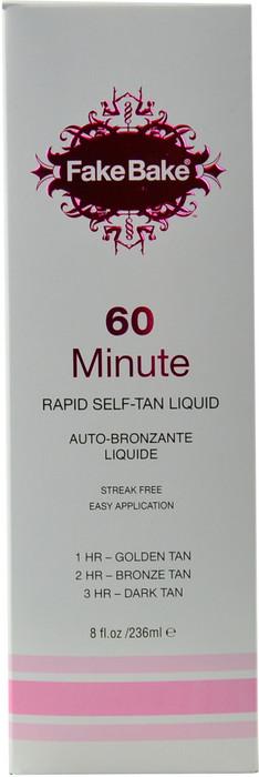 Fake Bake 60 Minute Rapid Self-Tan Liquid (8 fl. oz. / 236 mL)