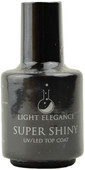 Light Elegance Super Shiny UV / LED Gel Top Coat (0.54 fl. oz. /15 mL)