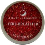 Light Elegance Fire Breather Glitter Gel (UV / LED Gel)