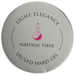 Light Elegance Natural Fiber Lexy Line UV / LED Hard Gel Builder (1.01 fl. oz. / 30 mL)