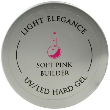 Light Elegance Soft Pink Builder Lexy Line UV / LED Hard Gel Builder (1.01 fl. oz. / 30 mL)
