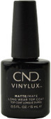 Cnd Vinylux Matte Top Coat (Week Long Wear) (0.5 fl. oz. / 15 mL)