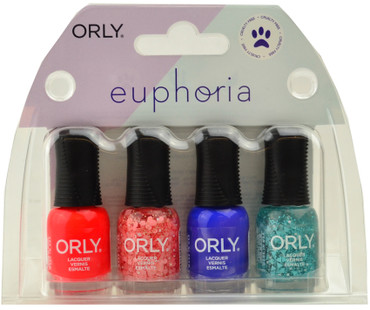 Orly 4 pc Euphoria 2019 Mini Set