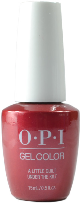 OPI Gelcolor A Little Guilt Under the Kilt (UV / LED Polish)