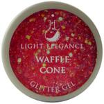 Light Elegance Waffle Cone Glitter Gel (UV / LED Gel)