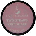 Light Elegance Two Straws, One Shake Color Gel (UV / LED Gel)