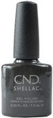 Cnd Shellac Powerful Hematite (UV / LED Polish)