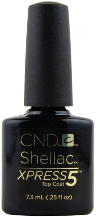 CND Shellac Xpress 5 Top Coat (0.25 fl. oz. / 7.3 mL)