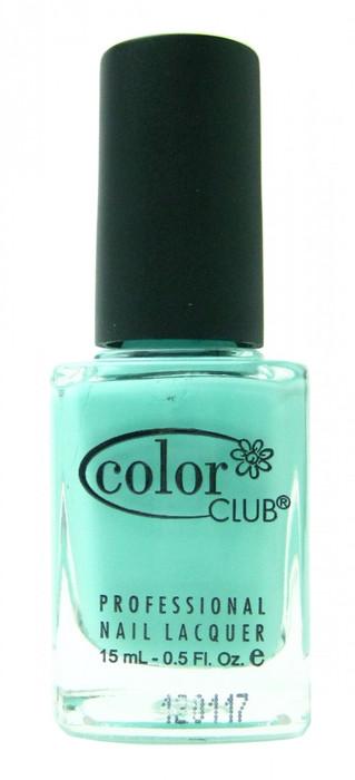 Color Club Blue-Ming nail polish