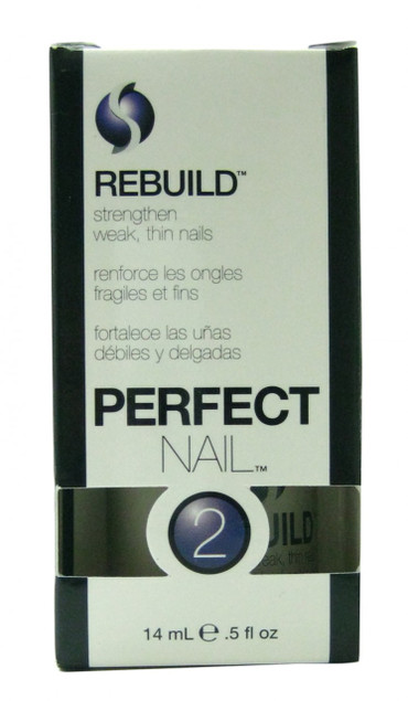 Rebuild Nail Strengthener (0.5 fl. oz. / 14 mL) by Seche Vite