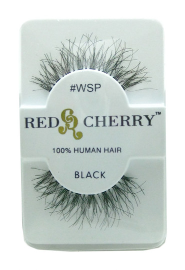 Red Cherry Lashes # Wsp Red Cherry Lashes (Black)