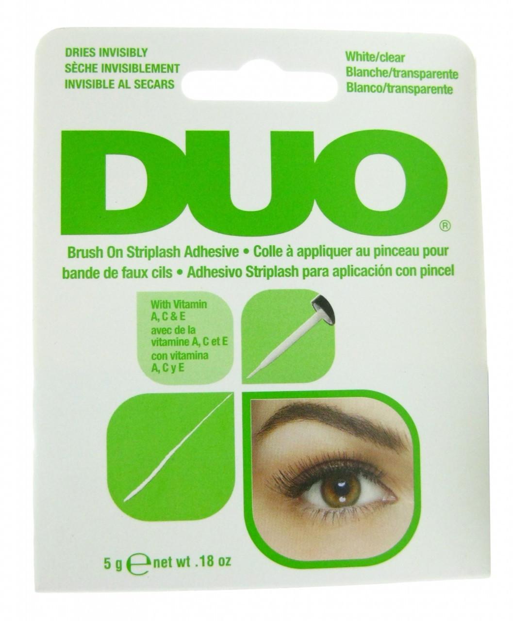Duo Eyelash Adhesive Duo Clear Brush On Striplash Adhesive ...