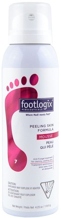 Footlogix #7 Peeling Skin Formula Anti-Fungal Treatment (4.23 oz. / 119.9 g)
