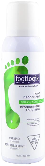 Footlogix #9 Foot Deodorant (4.23 fl. oz. / 125 mL)