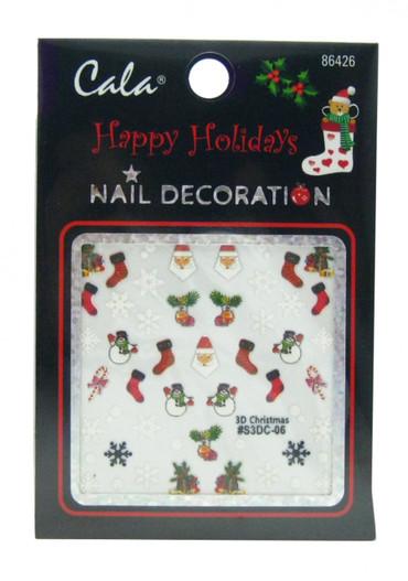 Cala Holidays #2 Nail Decal