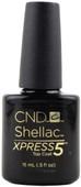 CND Shellac Nails Large UV Top Coat - Xpress 5 (0.5 fl. oz. / 15 mL), Free Shipping at Nail Polish Canada