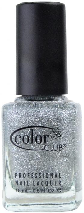 Color Club Silver Glitter nail polish