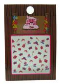 Piggy Paint for Kids Princess Themed Nail Decals (3-D)