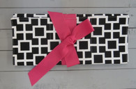 Black and Pink Changing Pad