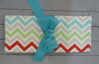Multi Colored Chevron Changing Pad