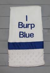 I Burp Blue