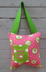 Pink and Green Tooth Fairy Pillow