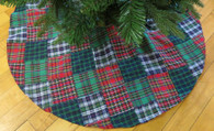 Patchwork large Tree Skirt