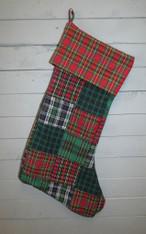 Plaid Stocking