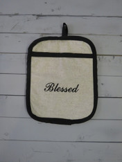 Blessed Pot Holder